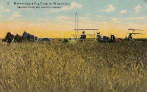Wisconsin , 1900-10s ; Harvesting