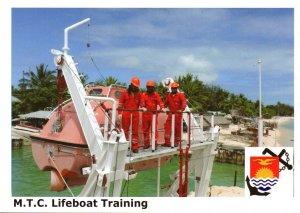 Kiribati Marine Training Centre  -  LIFEBOAT TRAINGING