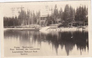 RP: LAURENTIDES NATIONAL PARK ,Quebec, Canada , PU-1933; Camp Taschereau