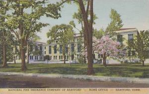 Connecticut Hartford National Fire Insurance Company Of Hartford Home Office