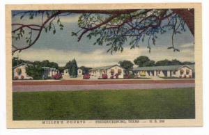 Miller's Courts, Fredericksburg, Texas, 30-40s