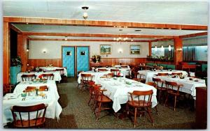Lancaster, PA Postcard THE WILLOWS LODGE Restaurant Highway 30 Roadside c1950s