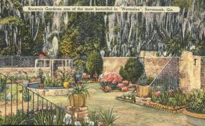 Brownie Gardens in Historic Wormsloe - Savannah GA, Georgia - Linen