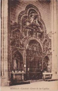 Urnas de las Capillas, Catedral, Sevilla, Andalucia, Spain