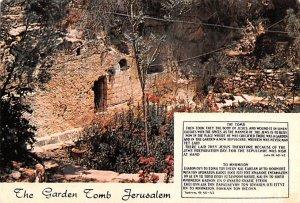 Garden Tomb JerUSA lem Israel 1977