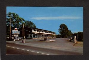 NB Wandlyn Motor Inn Hotel St Saint Stephen New Brunswick Canada Carte Postale