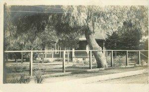 Home Residence Monrovia California 1910 RPPC Photo Postcard 20-9796