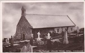 LLANDUDNO, Wales, 1900-1910's; St. Tudno's Church Great Orme