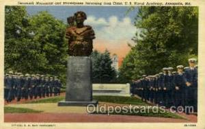 U.S. naval academy, Annapolis.MD, Maryland, USA Military Postcard Postcards  ...