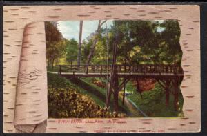 Rustic Bridge,Lake Park,Milwaukee,WI BIN