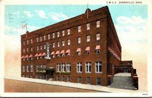 Ohio Zanesville Y M C A Building 1929 Curteich