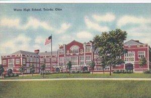 Ohio Toledo Waite high School
