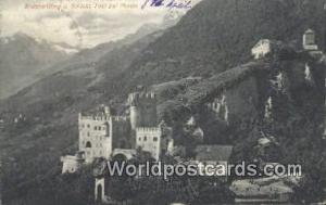 Tirol bei Meran Austria, Österreich Brunnenburg u Schloss Tirol bei Meran Br...