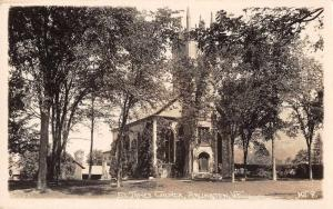Arlington Vermont St James Church Real Photo Antique Postcard J56187