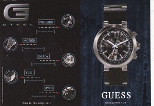 Advertising Guess Watches
