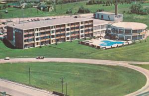 The Canadiana Motor Hotel, Swimming Pool, Toronto, Ontario, Canada, PU-1968