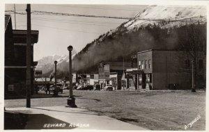 RP: SEWARD , Alaska , 1930-40s ; Main Street