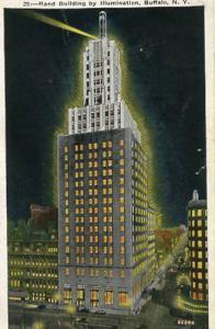 NY - Buffalo, Rand Building By Illumination