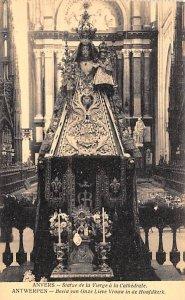 Statue de la Vierge a la Cathedrale Anvers Holland Unused
