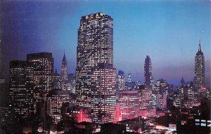Night Falls Manhattan, New York NY