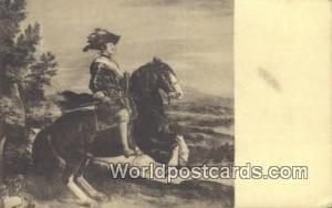 Spain Postcard España Tarjeta Postal El Rey D Felipe IV, Museo del Prado Mus...
