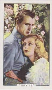 Gallaher Cigarette Card Shots From Famous Films No 13 Spy 13