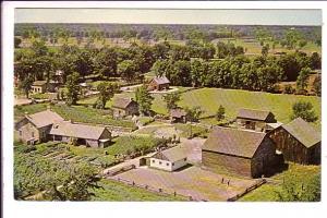 Upper Canada Village, Bird's Eye View, Loucka's Farm House, Morrisburg Ontari...