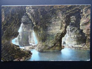 Yorkshire FLAMBOROUGH CAVES c1907 Postcard by W.R.& S. Reliable Series