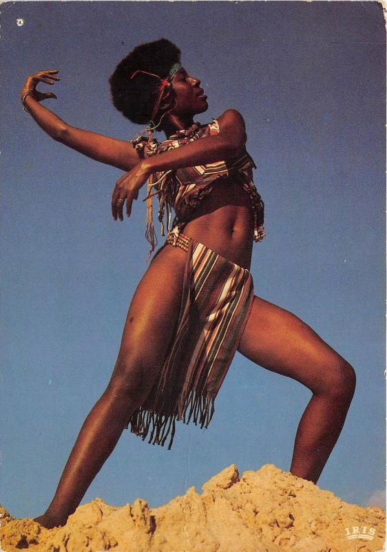 BG21297 africa african folk young dancer types folklore woman tchad
