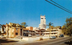 Cabrillo Travelodge San Diego, CA Roadside c1950s Vintage Postcard