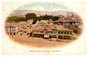 California  Berkeley  ,Center street
