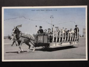 Isle of Man: Douglas Toast Rack Tram No.21 - by E.T.W.Dennis D.0626