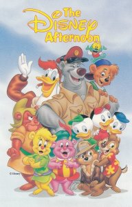 The DISNEY Afternoon TV Shows , 80-90s