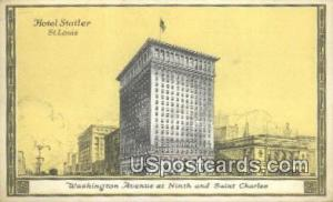 Hotel Statler St. Louis MO Unused