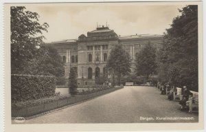 Norway; Bergen Kunsindustrimuseet RP PPC by AS/FBP, Unused, Ex Booklet, c 1930's