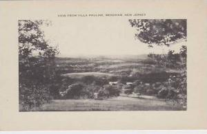 New Jersey Mendham View From Villa Pauline Artvue