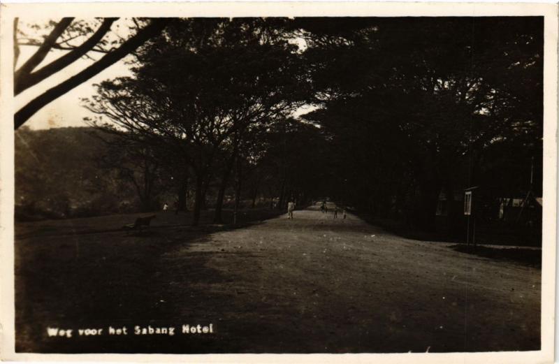 CPA Indonesia Weg voor het Sabang Hotel (360351)