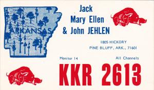 KKR-2613 Jack Mary Ellen and John Jehlen Pine Bluff Arkansas