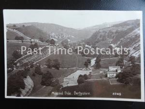 Derbyshire MONSAL DALE - Old RP Postcard by R. Sneath No.2245