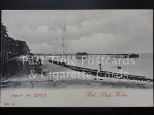 Cardiff: PENARTH, Penarth Pier showing Penarth Yacht Club - Pub Hartmann No.2524