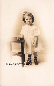 CLEVELAND, OHIO MISS DOROTHY HILGER-VINTAGE 1900'S RPPC REAL PHOTO POSTCARD