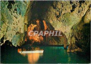 Modern Postcard Amalfi Conca dei Marini Emerald Grotto