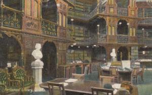 OTTAWA , Ontario , 00-10s ; Parliament Library , Interior