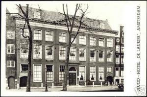 netherlands AMSTERDAM, Youth Hostel De Laurier 60s RPPC