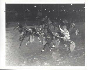 PHILADELPHIA, PA; Liberty Bell Park Racetrack, BAMBINO'S ROCKY wins 1980