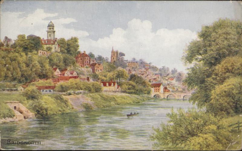 Bridgnorth Shropshire high town