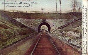 ARCH BOSTON & MAINE RAILROAD DOVER, NH 1913