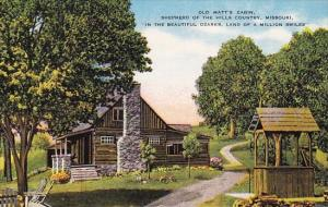 Old Matts Cabin Shepherd Of The Hills Country Ozarks Missour