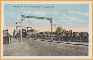 Sheboygan, WIS., Pennsylvania Ave. Bascule Bridge -