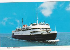 M. V. S. Abegweit, Modern and Powerful Icebreaker, 50-70s